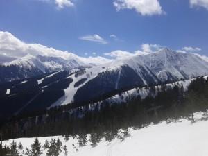 Todroka peak and Bansko ski zone