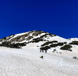 ski touring in Pirin